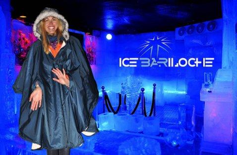 Bar de hielo en Bariloche