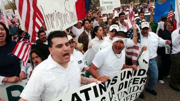 Hispanos insatisfechos