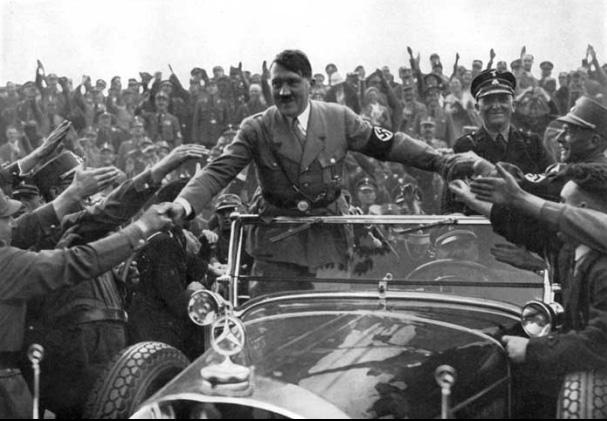 Hitler en sus tiempos de gloria