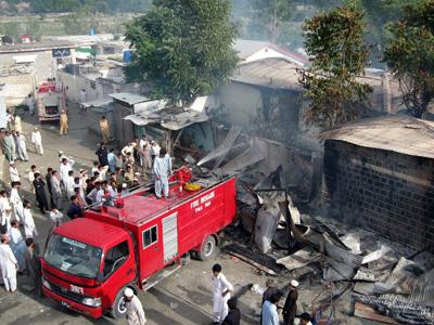 Protesta en Pakistan