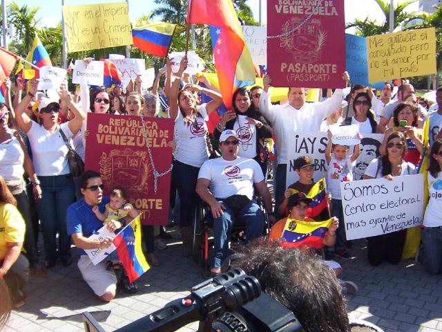 Voto del sur de la Florida podría ser decisivo en elecciones venezolanas