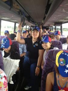 Con mucha alegría viajaron los venezolanos rumbo a New Orleans