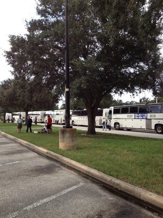 Autobuses contratados
