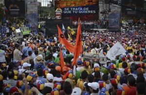 La Avenida Bolivar se desbordó