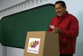 Chavez votando