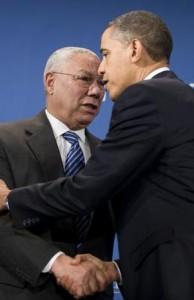 Colin Powell y Obama