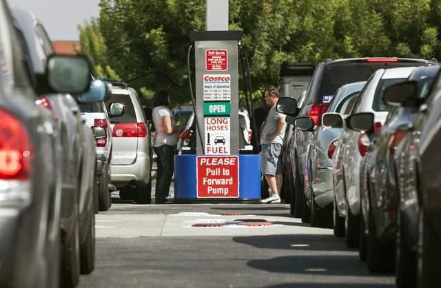Gasolina en LA