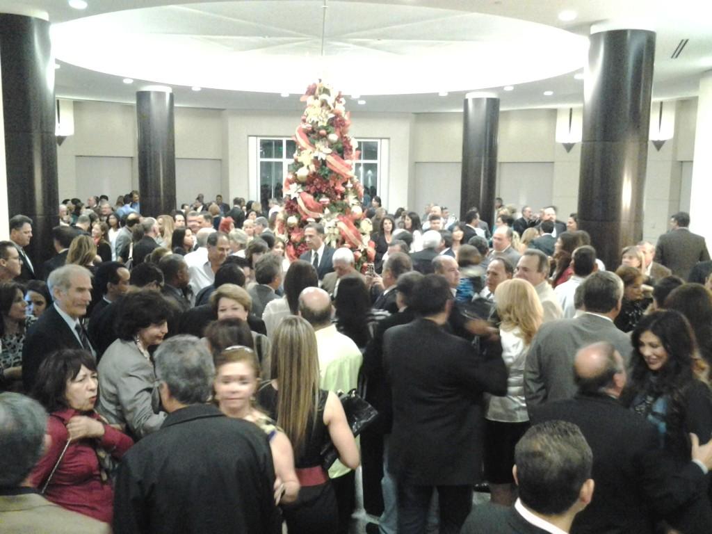 Numerosa asistencia acompanó al nuevo alcalde