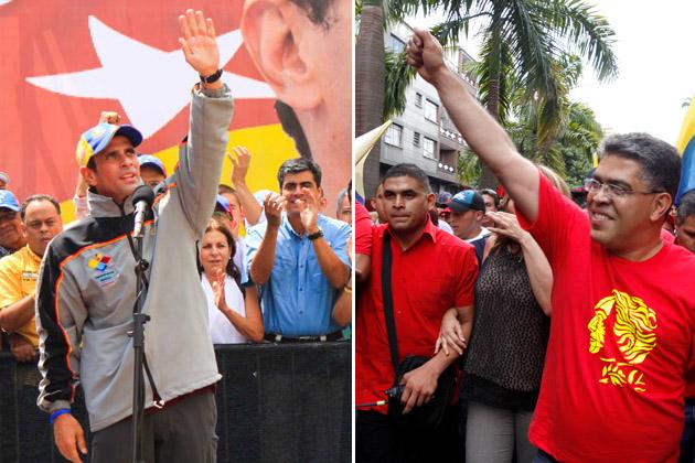 Capriles y Jaua
