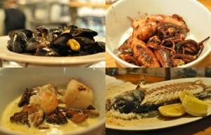 Pescados y mariscos en restaurantes de Rotterdam