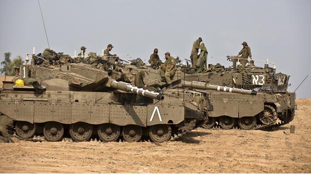 Tropas en Gaza