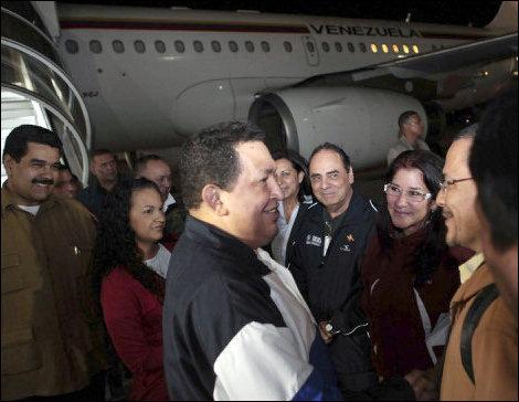 Chávez de regreso.