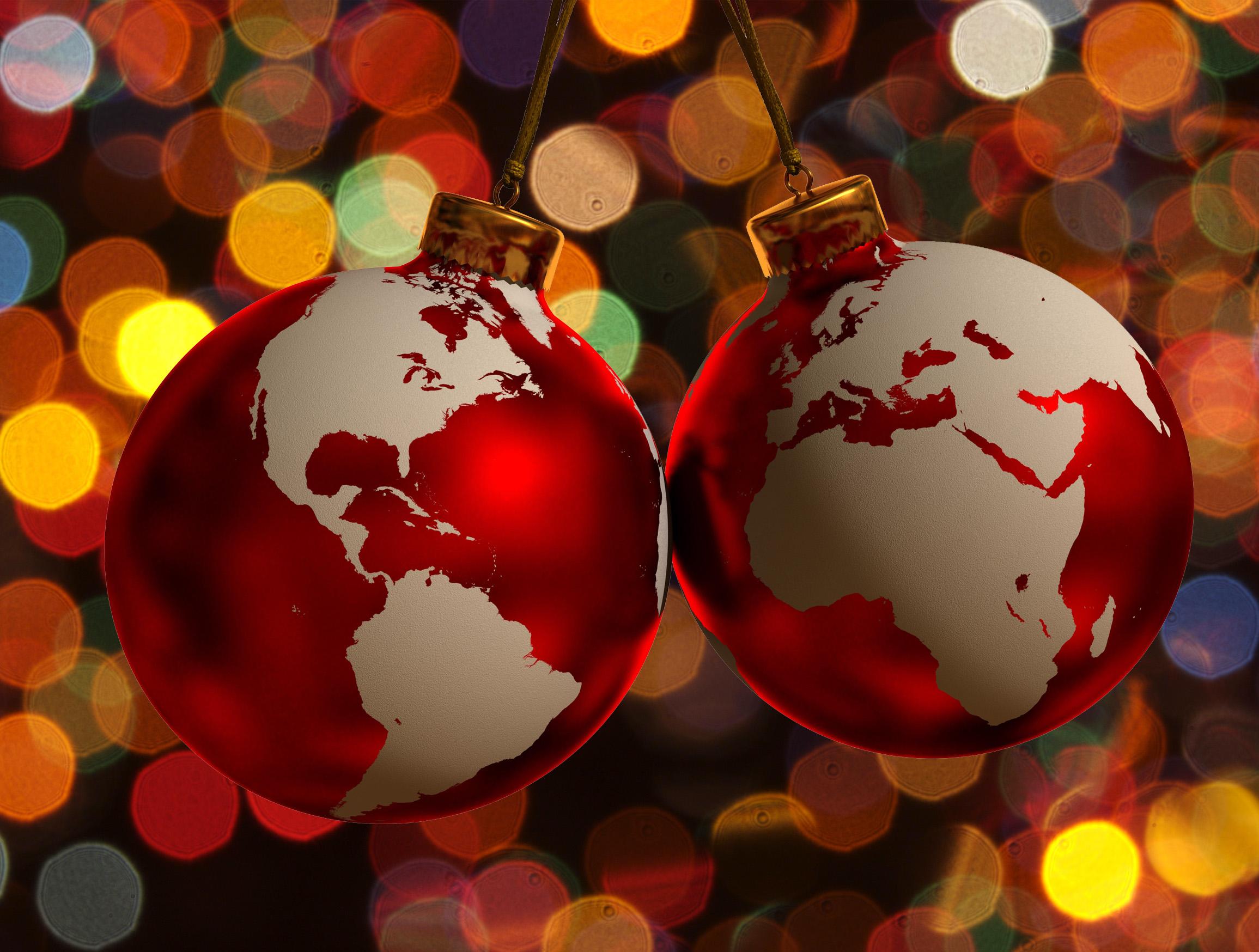 Top figuras en forma de esfera wallpapers - Esferas de navidad ...