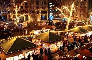 Mercado navideno en Budapest