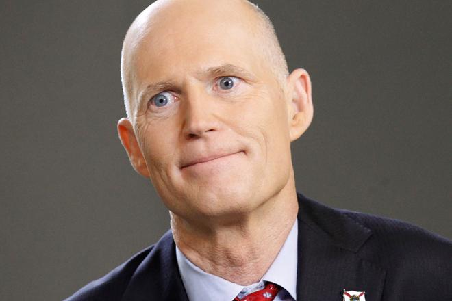 Gobernador Rick Scott avala los cambios electorales en el estado