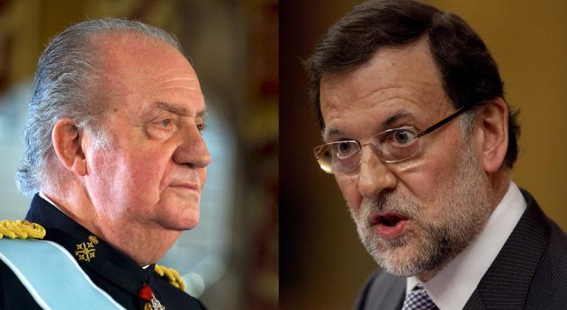 Juan Carlos y Rajoy