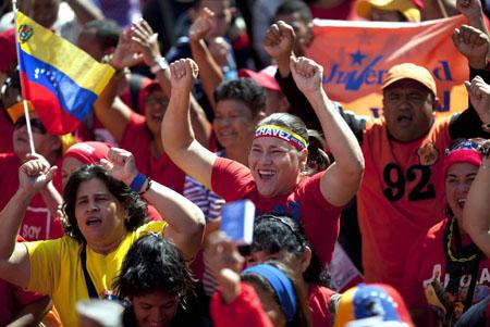 Maduro llama al chavismo salir a la calle a defender el proyecto del fallecido mandatario