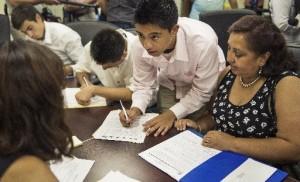 Jovenes inmigrantes