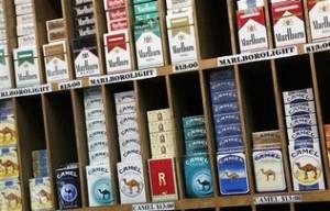 paquetes de cigarrillos