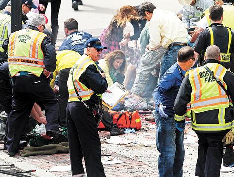 Explosion en Boston