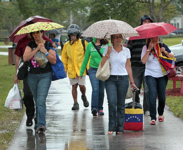 Venezolanos rumbo a New Orleans
