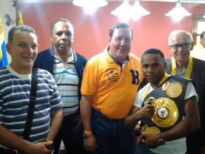 Gerardo Subero, Luis Hernandez, José Luis Rodríguez, Liborio y Gilberto Mendoza