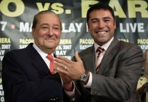 Bob Arum y Oscar De La Hoya