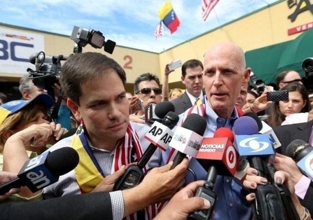 Gobernador Rick Scott pide congelar cuentas bancarias del gabinete de Maduro