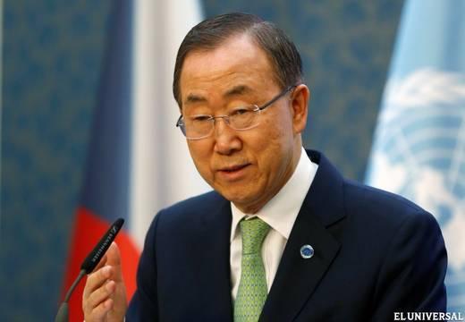 Ban Ki-moon llama a desactivar la crisis por anexión de Crimea a Rusia