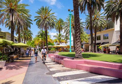 Lincoln Road, una vía multifacética de Miami Beach
